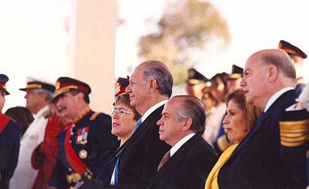 Le Chili de la Concertation: les militaire, Lagos et Bachelet