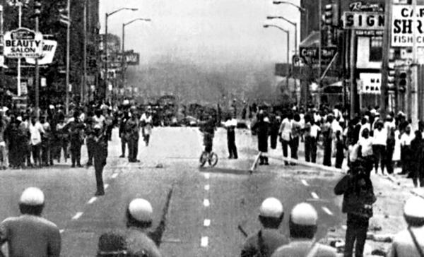 Rébellion de Détroit, 1967