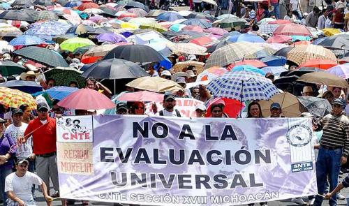 Manifestation de la CNTE le 18 juin 2015