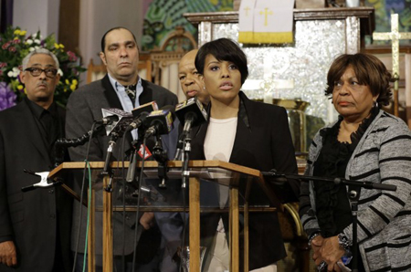 Stephanie Rawlings-Blake, maire de Baltimore, en fin avril 2015