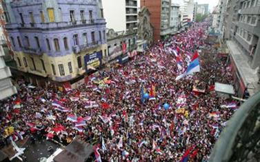 Victoire électorale du Frente Amplio en novembre 2009