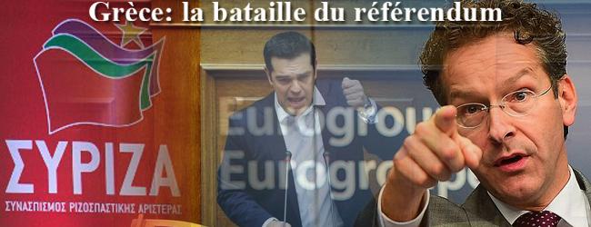Grèce. La bataille du référendum