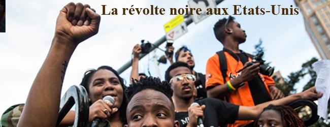 Révolte noire aux Etats-Unis