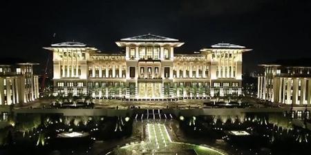 Le modeste palais d'Erdogan