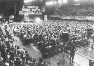 Congrès du Frente Amplio en 1971