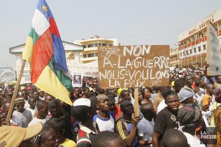 Centrafrique, janvier 2013