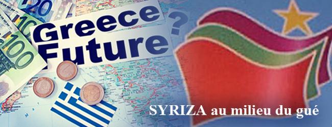 Grèce. Syriza au milieu du gué