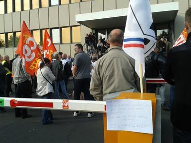 RATP: grève des régulateurs et superviseurs du Centre de régulation et d'information voyageurs (juin 2015)