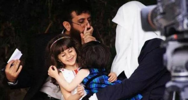Khader Adnan lors de sa libération le 12 juillet