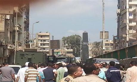 Le 23 août 2015: des sous-officiers manifestent à Sharqiya
