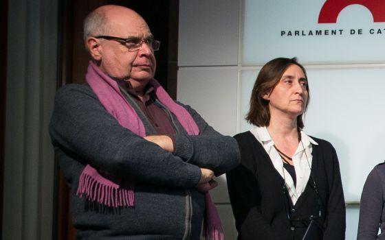 Lluis Rabell, président de la Fédération des habitants de quartiers de Barcelone, candidat de Catalunya sí que es pot
