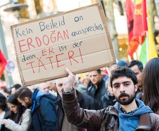 «Pas de condoléances pour Erdogan, c'est lui le coupable»