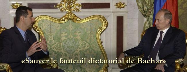 «Empêcher l'effondrement du régime Assad»