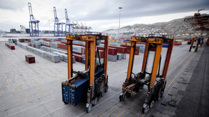 China Ocean Shipping Group Co. (COSCO)Container Port In Athens