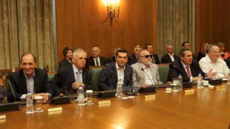 Le gouvernement Tsipras-Kamenos du troisième mémorandum