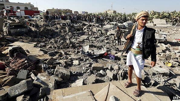 Juin 2015: les bombes du Royaume saoudien et leurs «dommages collatéraux» au Yémen