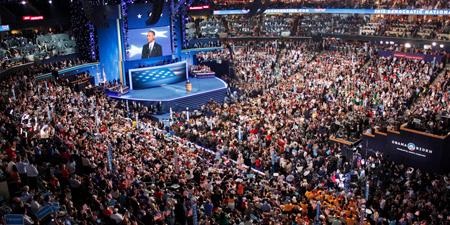 Convention démocrate en 2012