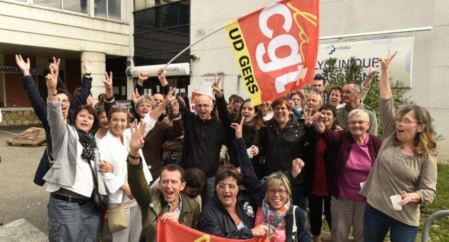 Une grève gagnante à la Polyclinique de Gascogne, après 29 jours de grève