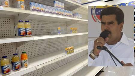 Maduro promet «des bateaux d'aliments»