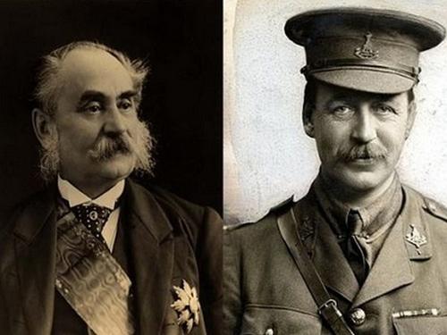 François Georges-Picot et Mark Sykes