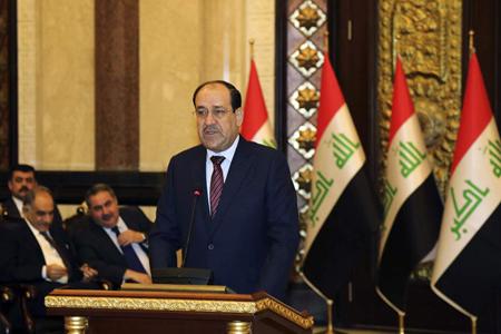 Le gouvernement irakien chiite de Nouri al-Maliki qui sera remplacé, en août 2014, par Haïdar al-Abadi