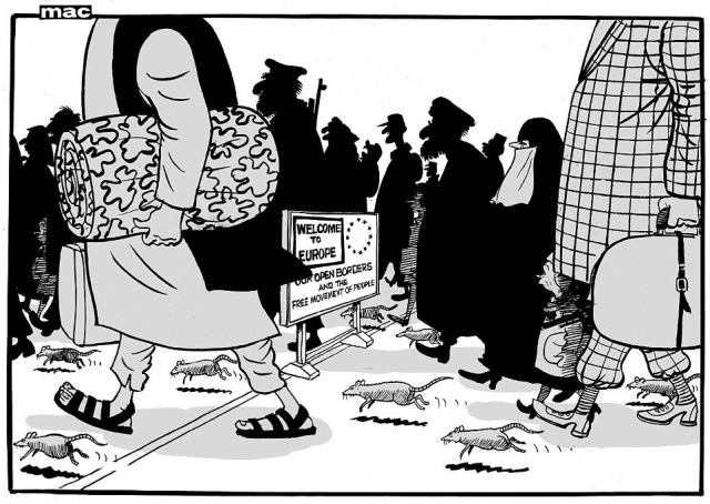 Dessin du «Daily Mail»