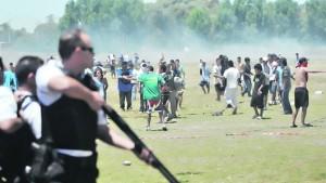 Décembre 2010: la police «évacue» le Parc Indoaméricain