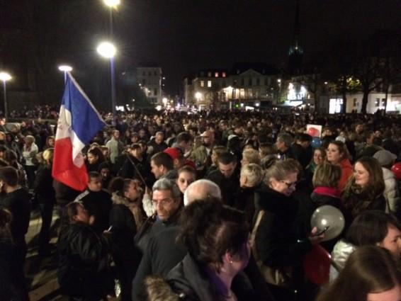 Manifestation à Rouen, le 20 novembre
