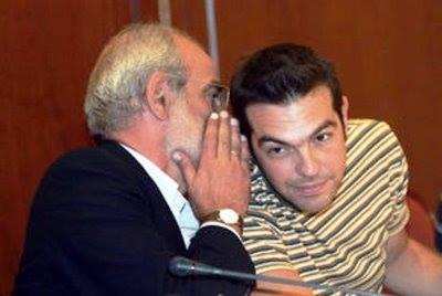 Alekos Alavanos et Alexis Tsipras en 2007