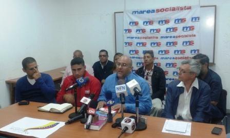 La bataille, en août 2015, de Marea Socialista pour être présente lors les élections de décembre 2015
