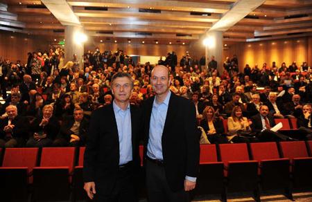 Mauricio Macri et Federico Sturzenegger: les stratèges du «plan de guerre»