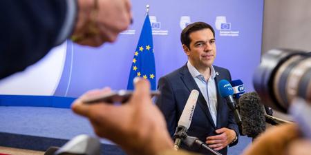 Alexis Tsipras, le 13 juillet 2013, à Bruxelles