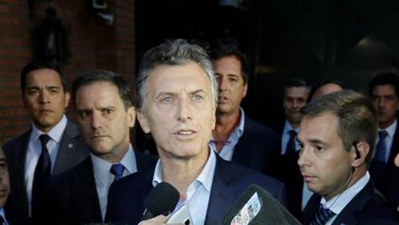 Mauricio Macri sort de la Quinta de Olivos, la résidence du «Président de la Nation»