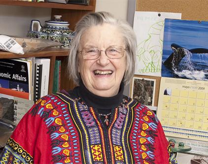 Elinor Ostrom, prix Nobel