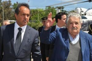 Pepe Mujica et Daniel Scioli, octobre 2015