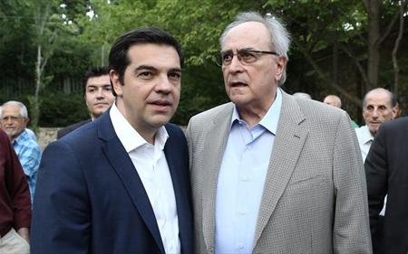 Alexis Tsipras et Nikos Kostantopoulos… le 23 juillet 2015