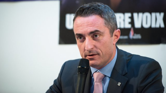 Stéphane Ravier, sénateur FN