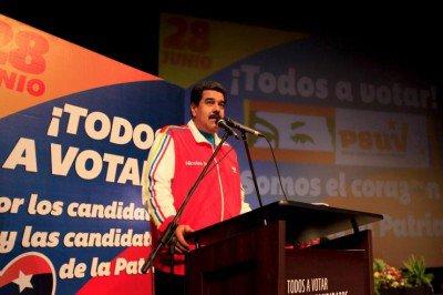 Maduro: élections du 4 décembre 2015