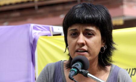 Ana Gabriel de la CUP, numéro deux au Parlement de Catalogne