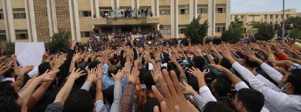 Manifestation étudiante (Mada)