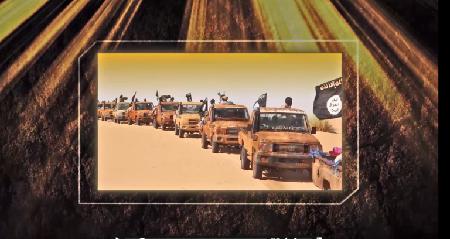 Al-Andalous – la branche média d'Al-Qaida au Maghreb islamique, AQMI – travaille «son visuel» comme Daech