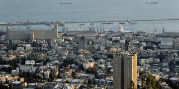 Le gisement de gaz Léviathan est situé à 130 km au large du port d'Haïfa