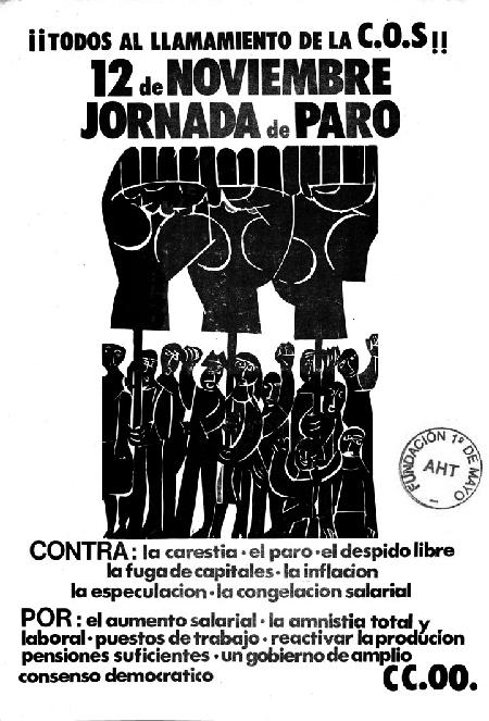 La grève de novembre 1976 en Euzkadi (Pays Basque)
