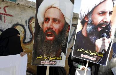 Cheikh Nimr al-Nimr, dignitaire chiite et opposant à la dynastie sunnite des Saoud