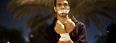 HOREYA EL GED3AN_Political prisoners human chain_03