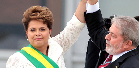 Dilma et Lula: 2011…