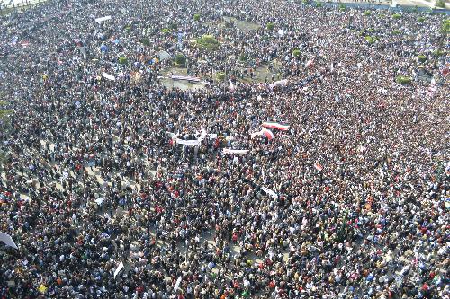 Le Caire: février 2011...