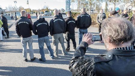 """Le 5 janvier 2016, les """"Soldiers of Odin»"""