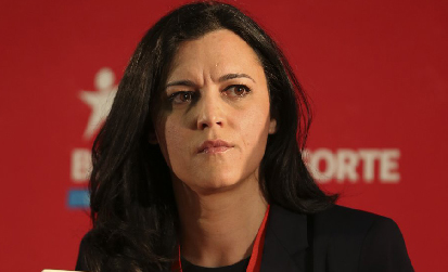 Marisa Matias, candidate du Bloco à la présidentielle du 24 janvier 2016