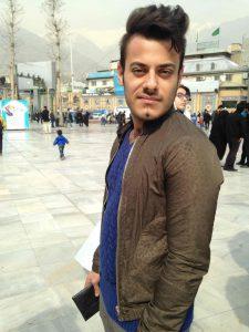 Arash, 24 ans, étudiant en médecine